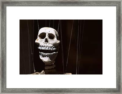 Marionette Framed Print by Joseph Skompski