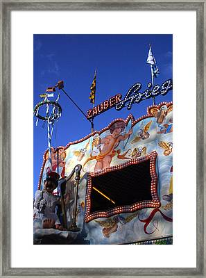 Marios Ride Framed Print by Jez C Self