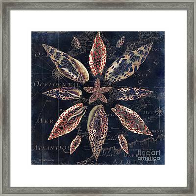 Maritime Blues IIi Framed Print by Mindy Sommers