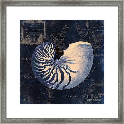 Maritime Blues  Framed Print