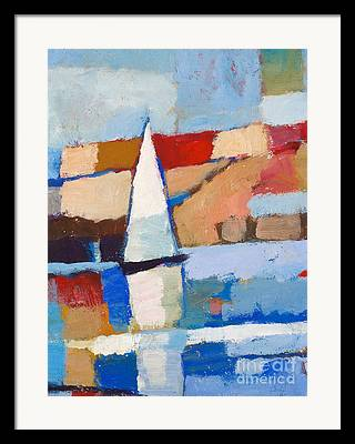 Abstract Maritime Framed Prints