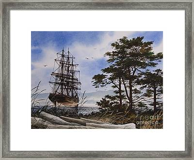 Maritime Shore Framed Print