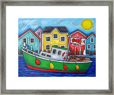 Maritime Special Framed Print by Lisa  Lorenz