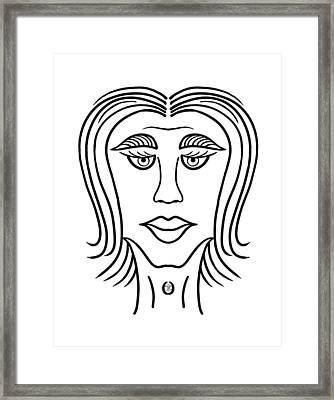 Mariza Framed Print