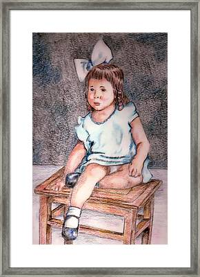Marjorie Framed Print by Denny Phillips