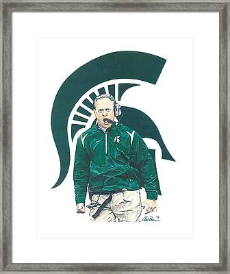 Mark Dantonio Framed Print