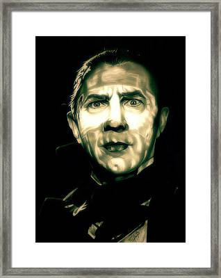 Mark Of The Vampire Framed Print by Fred Larucci