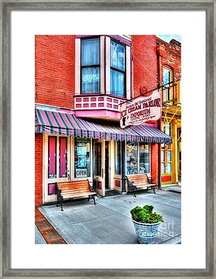 Mark Twain's Town 2 Framed Print by Mel Steinhauer