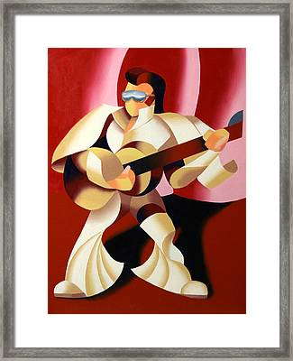 Mark Webster - It's Good To Be The King Framed Print by Mark Webster