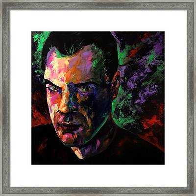 Framed Print featuring the painting Mark Webster Artist by Mark Webster