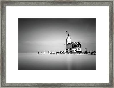 Marken Lighthouse Framed Print by Ivo Kerssemakers