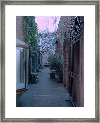 Market Alley Framed Print by James Johnstone