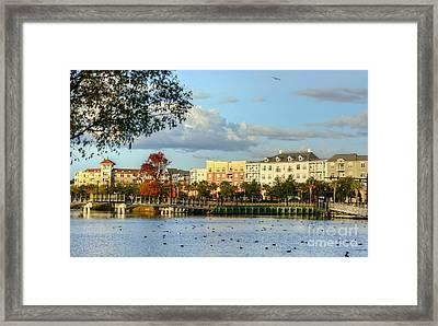 Market Common Myrtle Beach Framed Print