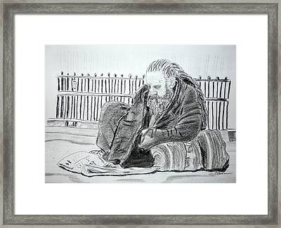 Market Crash Framed Print
