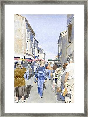 Market Day   Framed Print by Ian Osborne