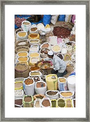 Market Day Framed Print by Tim Gainey