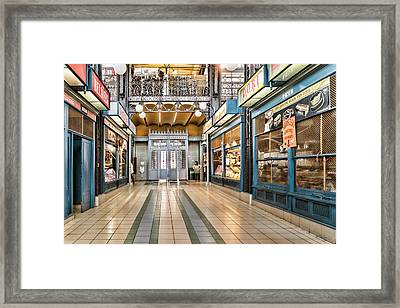Market Entrance Framed Print