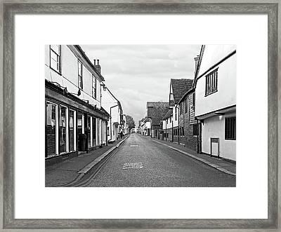 Market House Bell Street Sawbdridgeworth Framed Print