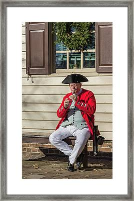 Chowning's Tavern Entertainer Framed Print by Teresa Mucha