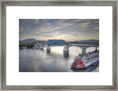 Market Street Bridge Framed Print by David Troxel