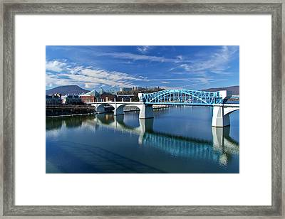 Market Street Bridge  Framed Print by Tom and Pat Cory