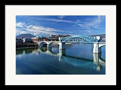 Market St Bridge Framed Prints
