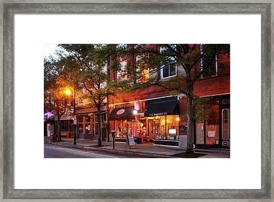 Market Street Shops Framed Print by Greg Mimbs