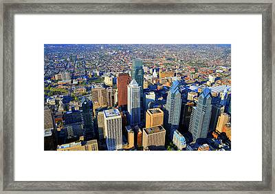 Market West Center City Philadelphia Pennsylvania 19103 Framed Print by Duncan Pearson