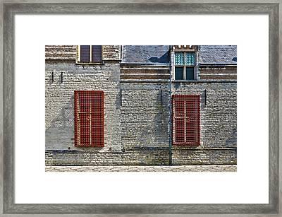 Markiezenhof In Bergen Op Zoom Framed Print