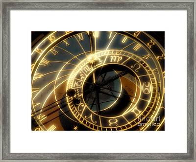 Marking Time Framed Print by Ann Garrett