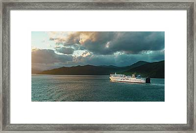 Marlborough Sounds Framed Print
