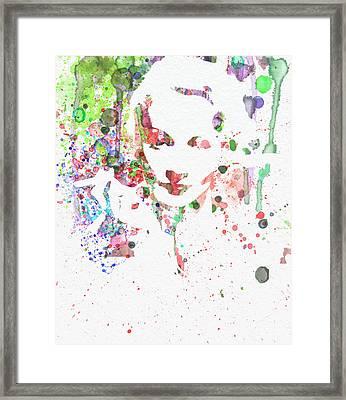 Marlene Dietrich 2 Framed Print