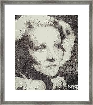 Marlene Framed Print by Randy Ford