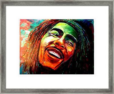 Marley Framed Print by Ken Pridgeon
