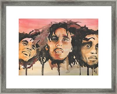 Marley Trio Framed Print