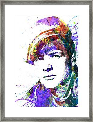 Marlon Brando Framed Print by Dante Blacksmith