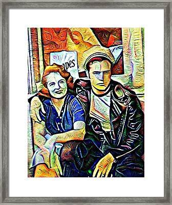Marlon Brando Framed Print by John Rizzo