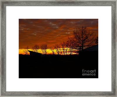 Marmalade Sky Framed Print
