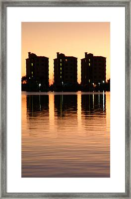 Marmelade Skies At Condo Heaven Framed Print