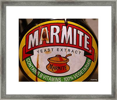 Marmite Framed Print by Michael Canning