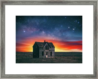 Marquette Magic Framed Print