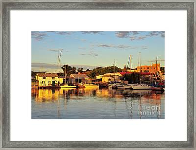 Marquette Michigan Framed Print
