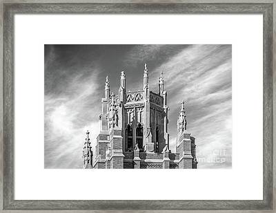 Marquette University Marquette Hall Framed Print