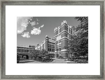 Marquette University Raynor Library Framed Print by University Icons