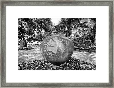 Marquette University St. Joan Of Arc Chapel Plaza Framed Print by University Icons