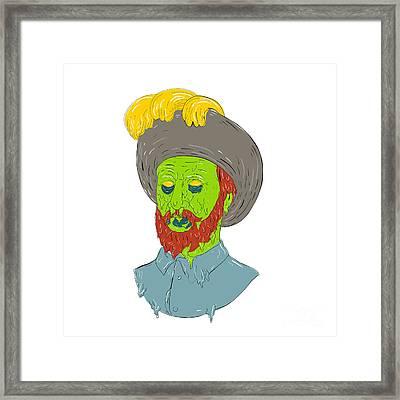 Marquis Conquistador Grime Art Framed Print
