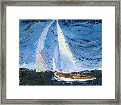 Marraige Framed Print by Impressionism Modern and Contemporary Art  By Gregory A Page