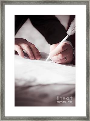 Marriage Certificate Framed Print by Jorgo Photography - Wall Art Gallery