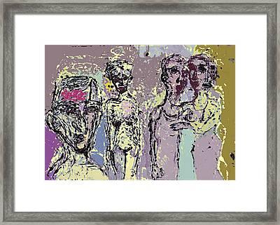 Marrige Framed Print by Noredin Morgan