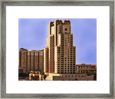 Marriott Of Tampa Bay Framed Print